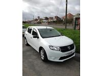 Dacia Sandero 1.2 16v Ambiance 5dr 2015 ONLY 7236 MILES