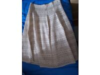 One-of-a-kind, handmade, crochet skirt