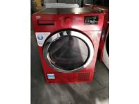 Red Beko Dryer (9kg) (6 Month Warranty)
