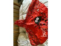 Waterproof Mac/cape from Bugzz child age 3 to 6yr