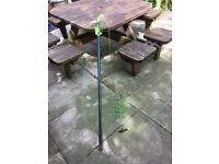 Garden telescopic tree branch pruner loper