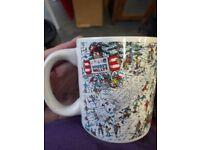 Where's Wally Mug - novelty gift cup