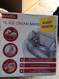 1litre ice cream maker