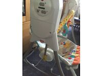 Fisher price swing n rocker bouncer chair