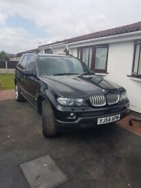 bmw x5 3l diesel sport full stamped history long mot drives well not new priced to sell