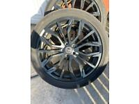 Range Rover phantom alloys 22inch with tyres
