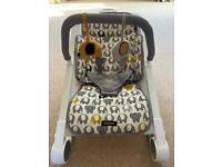 Baba Bing Elephant 'Rockout' baby rocker chair