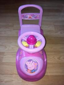 "Peppa Pig ""My First Sit and Ride"" Ride on"