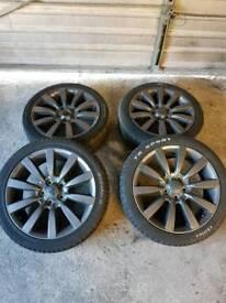 """18"""" 114.3 5 stud alloy wheels"""