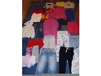 Bundle of girl's clothes age 5-7