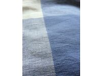 New Piece of heavy cotton drill fabric / tablecloth