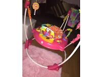 Pink petals fisher price jumperoo