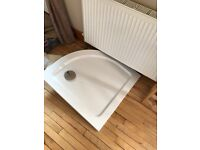 As new shower tray