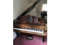 Baby Grand Piano - Albert Fahr