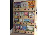 Tidy Books kids bookshelf