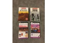 Travel books USA and Japan