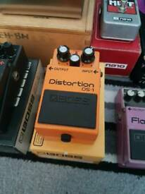 Boss ds-1 distortion pedal (boxed)