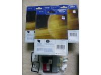 Brand new sealed printer cartridges - Brother & Epson