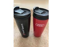 Audi thermos mugs