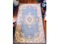 152x92 FRITH RUG CARPET HAND MADE VINTAGE INDIAN