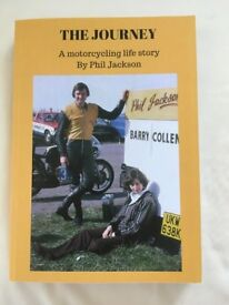 THE JOURNEY. A motorcycling life story. Over 50 years of motorcycling antics heartache & enjoyment.