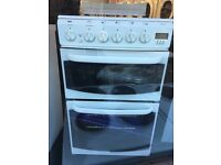 CANNON 50CM ALL GAS COOKER IN WHITE WITH LID