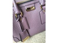 Burberry Heritage Vintage Small Gladstone Tote, in Gorgeous Dusky Mauve