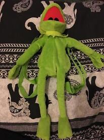 Child's Kermit the frog bag