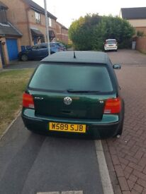 Volkswagen Golf for sale £550 cheap run about needs a service all running