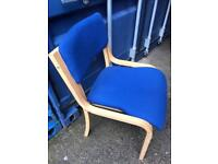 Blue office chair with FREE DELIVERY PLYMOUTH AREA