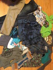 bundle boys clothes size 9-10
