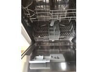 Belling Fully Integrated Dishwasher full size like new cost £359 used twice.