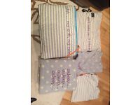 Myleene Klass Baby K Cotbed/Bedding bundle