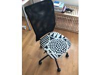 Free Ikea Swivel Office Chair - Wheel is Broken. For parts or fixing it