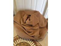 Large Suede Effect Bean Bag