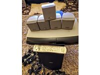 Bose Life Style Av 18 ii with Sub-Woofer, 5 individual Speakers, Remote, Multimedia Center