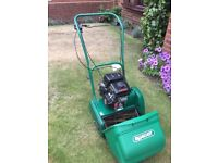 Petrol Lawn Mower with front box and veriable speed