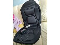 Massager pad with Integrated Seat Warmer
