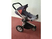Quinny Buzz Extra pram and pushchair