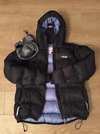 Ladies RAB Nutrino down jacket