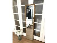 Vintage full length mirror Free Delivery Ldn gold frame