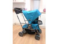 Joovy Caboose Ultralight Double Pram / Stroller / Sit and Stand