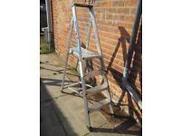 Clima platform step ladders
