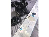 Head Snowboard (157cm), Boots (size 6) and Bindings very little wear.