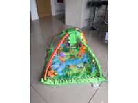 FISHER PRICE RAINFOREST GYM. EXCELLENT CONDITION WITH BATTERIES