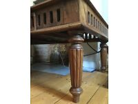 Antique coffee table late Edwardian