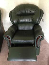 Leather recliner chairs for sale