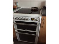 Hotpoint Ultima 60cm double oven cooker