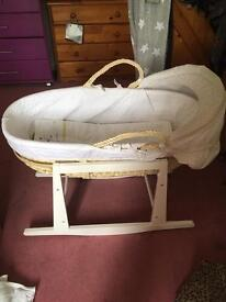 Counting sheep Moses basket and rocking stand