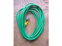 Garden hose pipe approx' 40 feet long excellent condition with hose / tap connector